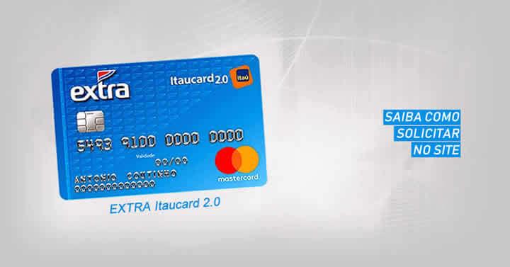 Cartão de crédito EXTRA Itaucard 2.0