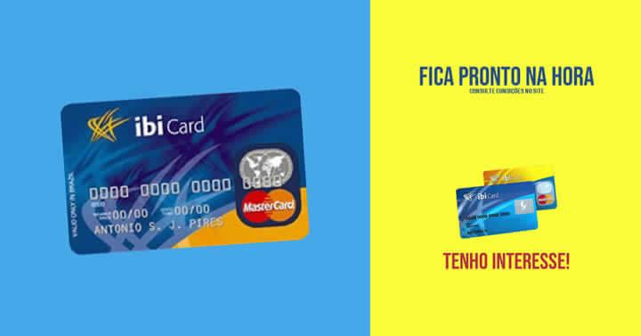 cartão de crédito IbiCard Nacional