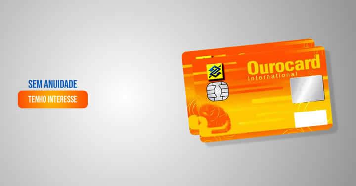 cartão de credito ourocard banco do brasil